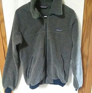 Patagonia zip up fleece